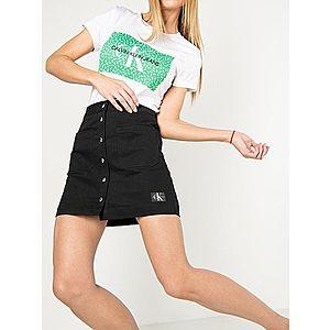 Calvin Klein dámská černá mini sukně obraz