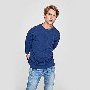Pepe Jeans pánská modrá mikina Benni obraz