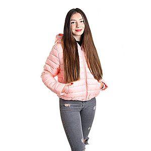 Calvin Klein dámská růžová bunda Logo obraz