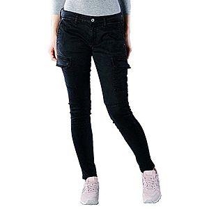 Pepe Jeans dámské černé kapsáčové kalhoty Survivor obraz