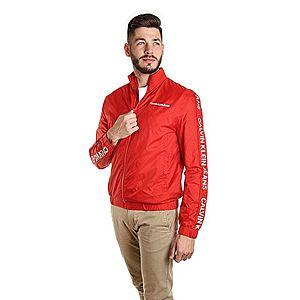 Calvin Klein pánská červená šusťáková bunda Truck obraz
