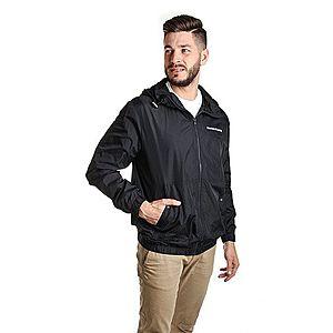 Calvin Klein pánská černá šusťáková bunda obraz