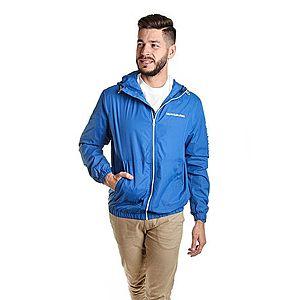 Calvin Klein pánská modrá šusťáková bunda obraz