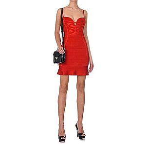 Guess dámské červené šaty obraz