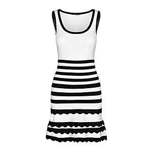 Guess dámské bílé šaty s proužkem obraz