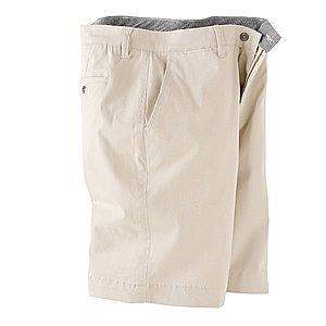 Stylové béžové kalhoty na knoflíky obraz