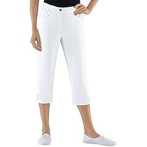 Capri-džíny, Classic Basics bílá 36 obraz
