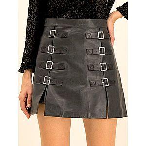 Kožená sukně The Kooples obraz