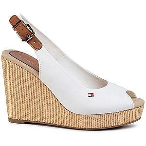 Tommy Hilfiger Iconic Sandále Bílá obraz