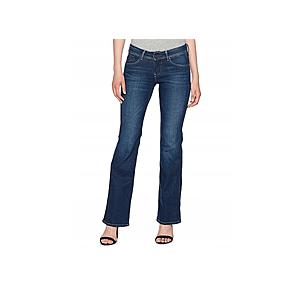 Pepe jeans dámské tmavě modré zvonové džíny Pimlico obraz