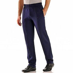 Kalhoty s podílem vlny námořnická modrá 40/42 obraz
