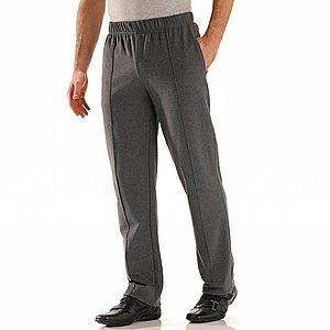 Kalhoty s podílem vlny antracitová 40/42 obraz