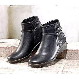 Kotníkové boty Ela černá 36 obraz