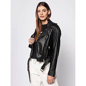 Kožená bunda Trussardi Jeans obraz