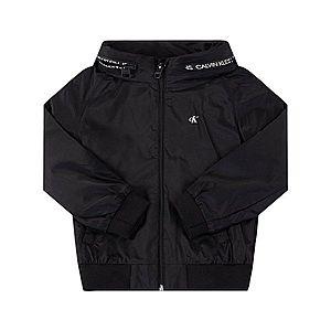 Calvin Klein Přechodný kabát černá obraz