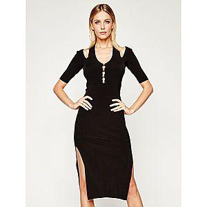 Úpletové šaty Versace Jeans Couture obraz