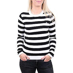 Guess dámský černobílý pruhovaný svetr obraz