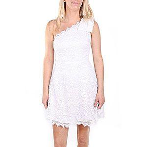 Bílé krajkové šaty obraz