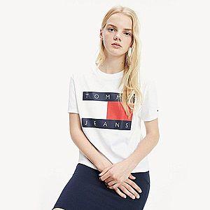 Tommy Hilfiger dámské bílé tričko Tommy obraz