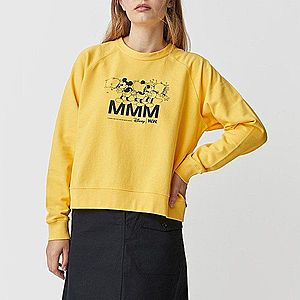 Wood Wood x Disney Jerri Sweatshirt 12022407-2486 YELLOW obraz
