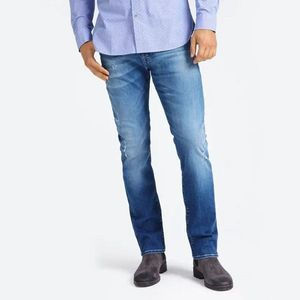 Guess pánské modré džíny Ultimate Stretch obraz