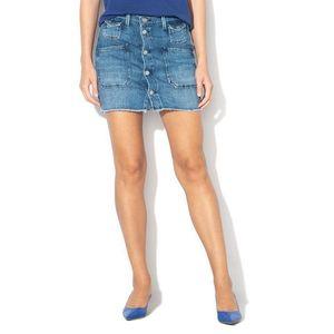 Pepe Jeans dámská džínová sukně Alba Slub obraz