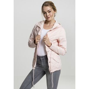 Urban Classics Ladies Basic Cotton Parka rose obraz