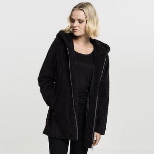 Urban Classics Ladies Sherpa Jacket black obraz