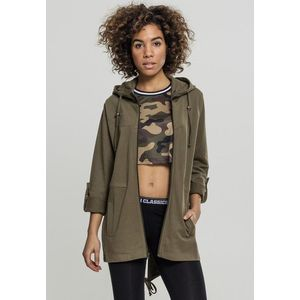Urban Classics Ladies Terry Parka olive obraz