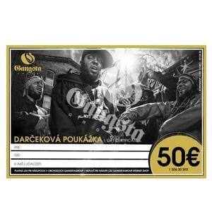 GangstaGroup Gift Certificate - Dárkový poukaz obraz