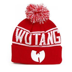 Wu-Tang Logo Winter Cap Red White obraz