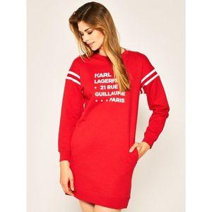 Úpletové šaty Karl Lagerfeld obraz