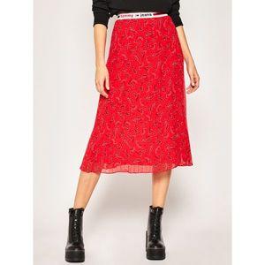 Plisovaná sukně Tommy Jeans obraz
