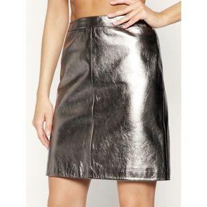 Kožená sukně Hugo obraz