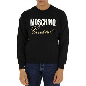 Love Moschino pánská mikina Barva: černá, Velikost: XS obraz