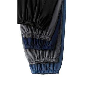 Kalhoty s podílem vlny černá 40/42 obraz