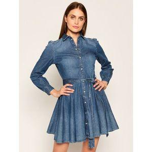 Džínové šaty Guess obraz