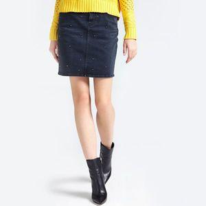 Guess dámská černá džínová sukně obraz