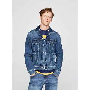 Pánská džínová bunda obraz