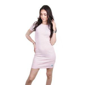 Calvin Klein dámské bílé šaty s proužkem obraz