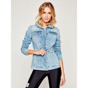 Jeansová bunda Pinko obraz