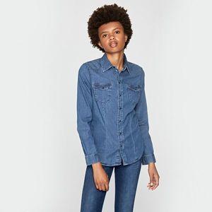 Pepe Jeans dámská džínová košile Rosie obraz