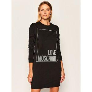 Úpletové šaty LOVE MOSCHINO obraz
