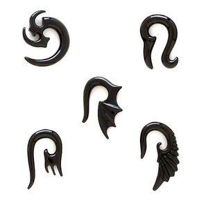 Expander do ucha - klasický tribal symbol - Tloušťka : 4 mm, Symbol: Klasický tribal symbol obraz