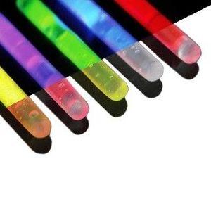 UV svítící tyčinky do percingů, sada 5 ks obraz