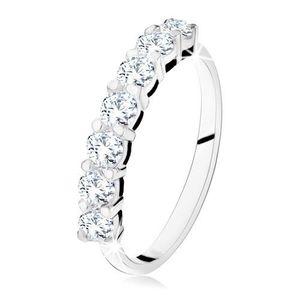 Stříbrné zásnubní prsteny obraz