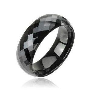 Prsten v černém odstínu obraz