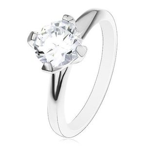 Zásnubní prsten ze stříbra obraz