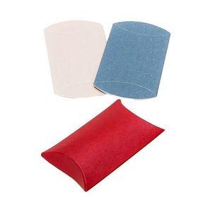 Dárková krabička z papíru, hladký povrch, metalické barvy - Barva: Stříbrná obraz