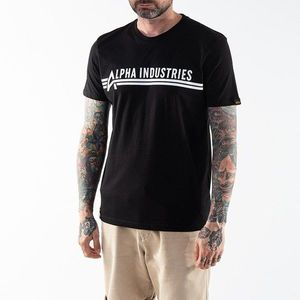Alpha Industries Backprint T-shirt 126505 95 obraz